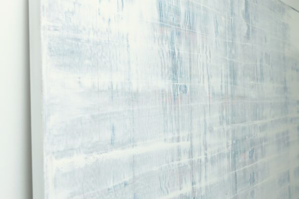 White Abstract Painting Mist